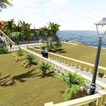 jalandhar guest house landscape development , diu
